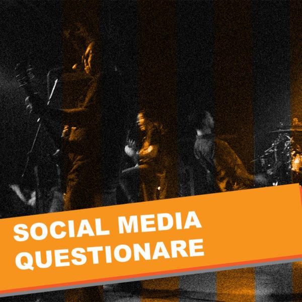 TuneTrax - Social Media Questionare