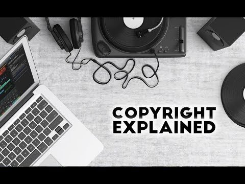 copyrights explained with Tunetrax