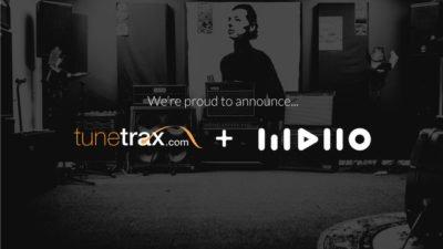Tunetrax and MDiio Partnership