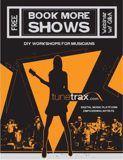 Tunetrax Booking 101 Free Webinar